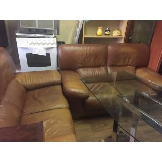 Sofas de piel 2 de 2 plazas estilo vintage