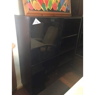 Mueble de salon color negro